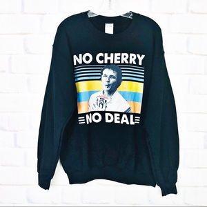 Gildan 7-11 Cherry Slurpee Graphic Sweatshirt NWOT